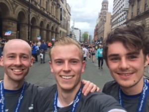 teamwork at skyparlour PR manchester 10k